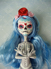 pretty skele girl