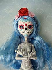 pretty skele girl