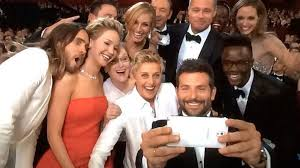 Possibly the most famous selfie ever?