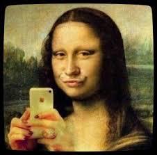 Mona Lisa Selfie...