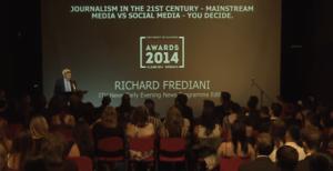 Inspirational speech by Richard Frediani
