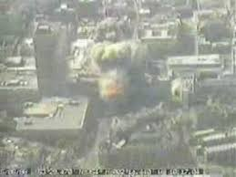 Explosion caught on cctv