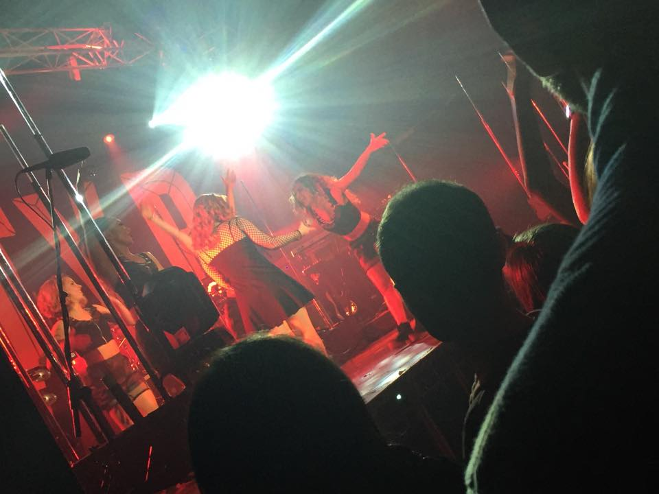 KATY B AND BECKY HILL RAISE THE ROOF @ THE ACADEMY (5/6)