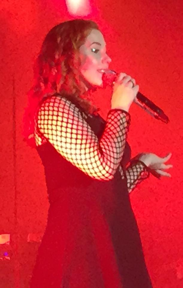KATY B AND BECKY HILL RAISE THE ROOF @ THE ACADEMY (4/6)