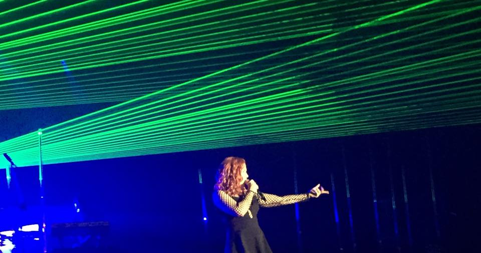 KATY B AND BECKY HILL RAISE THE ROOF @ THE ACADEMY (3/6)