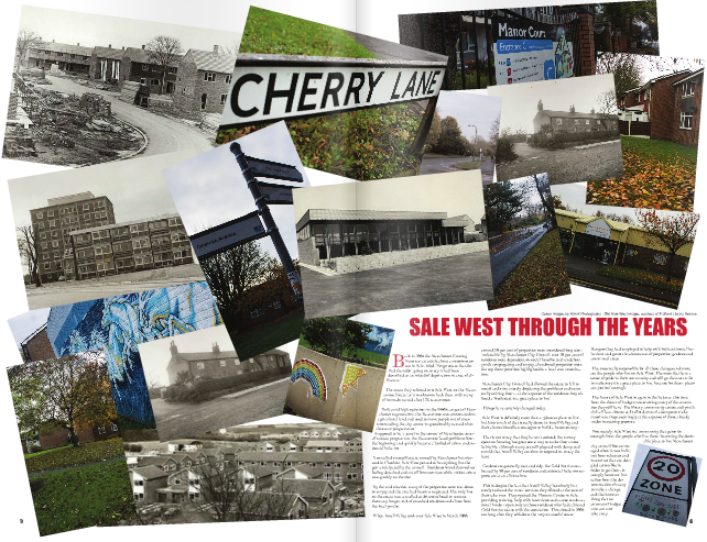 Feature in Sale West Voice Magazine