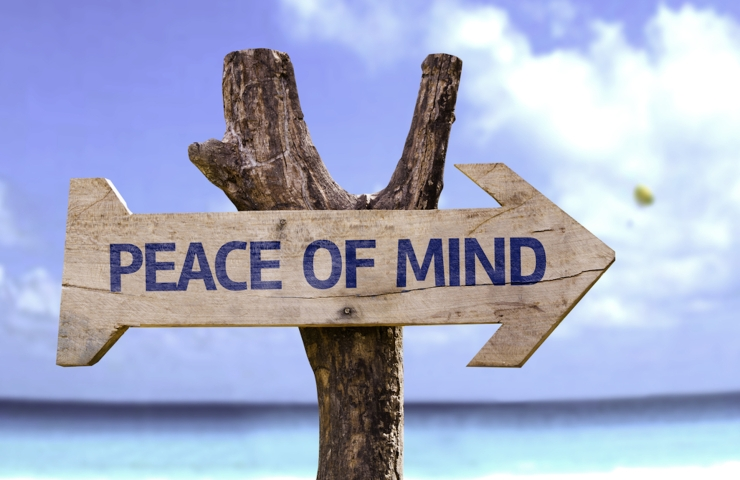 Mindfulness offers peace of mind