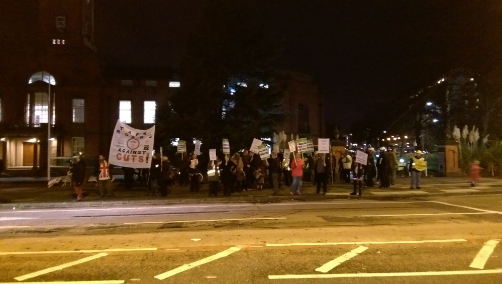 Trafford Residents Urged To Join Month Of Peaceful Protests (1/3)