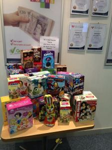 Staff are 'eggstatic' with donations so far